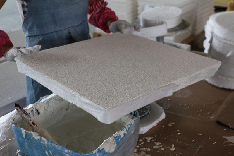 Ceramic Foam Filter Ural Aluminium